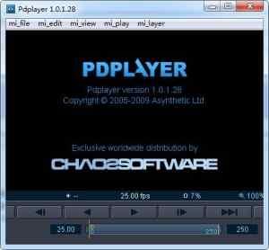 Pdplayer序列帧播放器【Pdplayer 64位破解版】插图1
