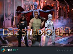 DAZ Studio Pro Edition 4.10.0.107破解版【DAZ Studio 4.1】简体中文破解版插图1